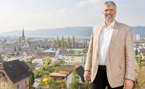 Der reformierte Pfarrer Lutz Fischer-Lamprecht. zVg