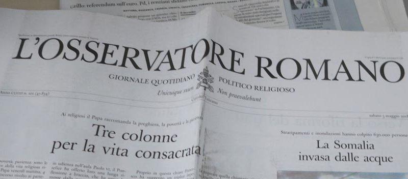 Die Hauspostille des Papstes. © Walter Ludin
