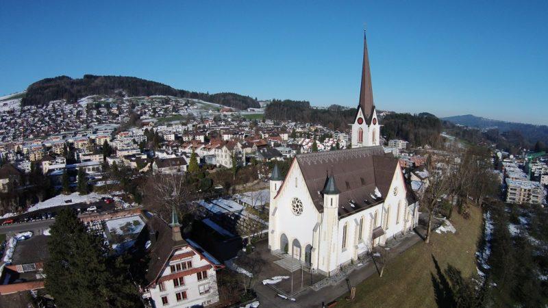 die Kirche «meiner» Pfarrei Abtwil