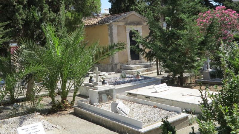 Friedhof in Chania, Kreta.© Walter Ludin