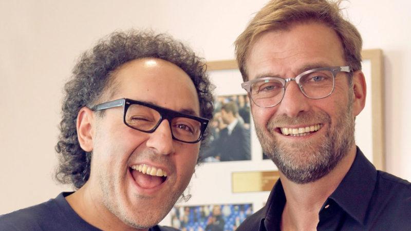 David Kadel und Jürgen Klopp. (Bild zVg)
