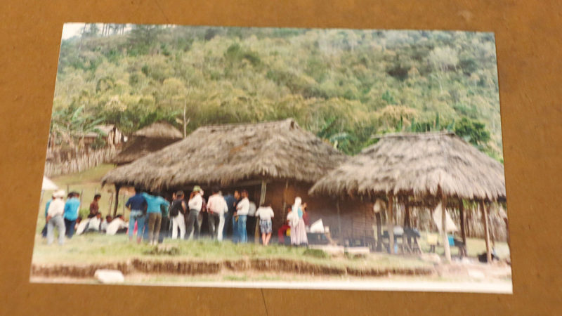 Solche Bergdörfer in Chiapas wurden von Pilatusmaschinen bombardiert.  © Walter Ludin 1995