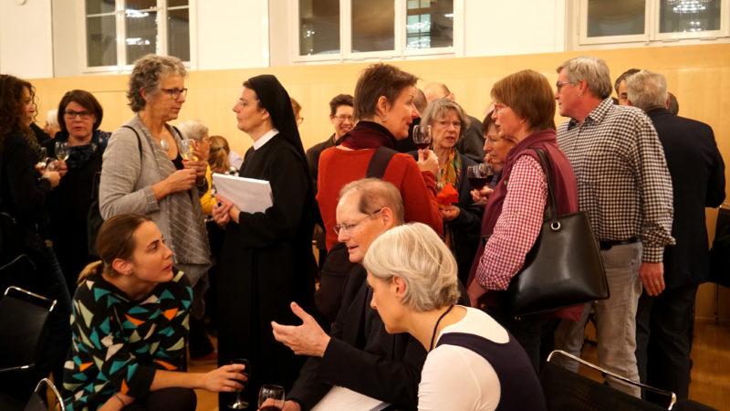 Buchvernissage Kirche mit den Frauen in Zürich. © Vera Rüttimann 2018