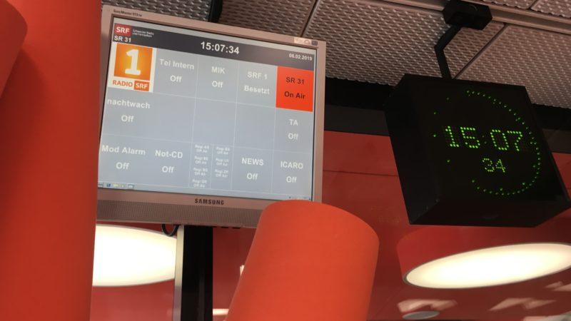Radio zum Ansehen. Bild: Karin Reinmüller
