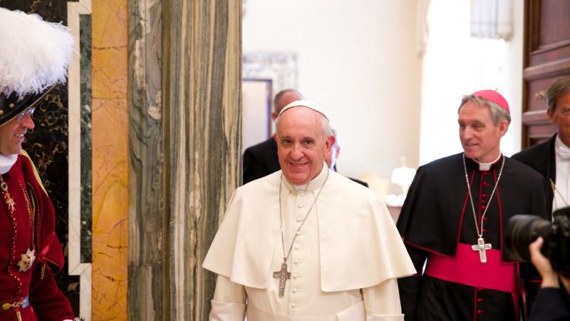 Papst Franziskus |©  Oliver Sittel