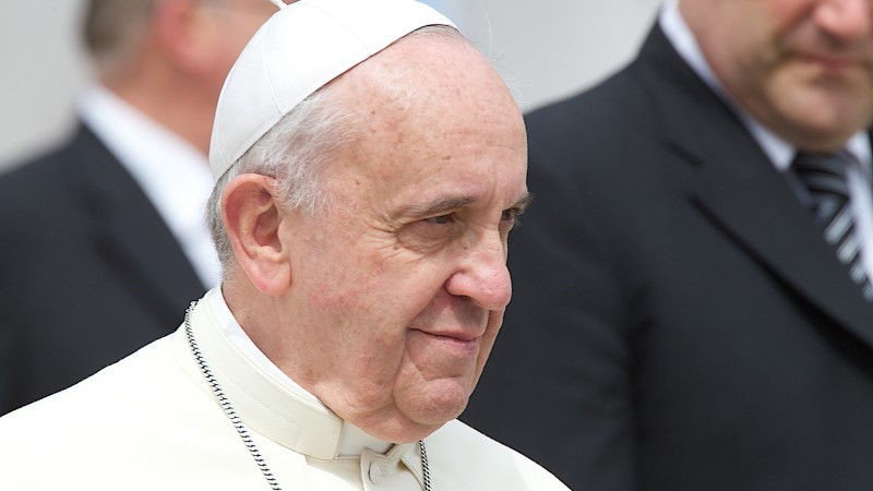 Papst Franziskus  |©  2014 Oliver Sittel