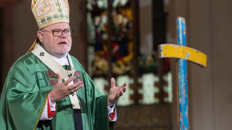 Reinhard Marx, Vorsitzender der deutschen Bischofskonferenz | © 2014 KNA