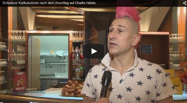 Andreas Thiel nimmt Stellung zur Satire nach «Charlie Hebdo» l © 2015 kath.ch