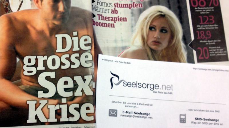 Porno stumpf Männer ab, sagt die Boulvardpresse | © Georges Scherrer
