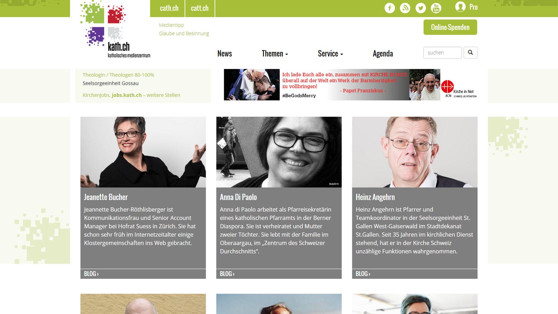 Blogs auf kath.ch