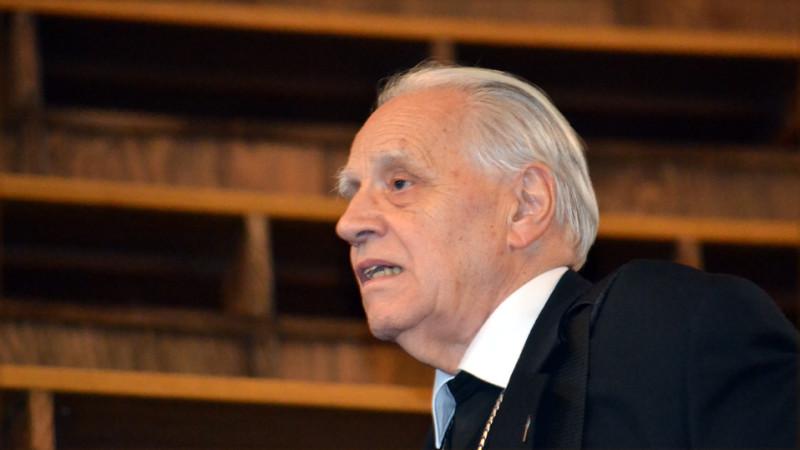 Peter Henrici, emeritierter Weihbischof von Chur | © Georges Scherrer