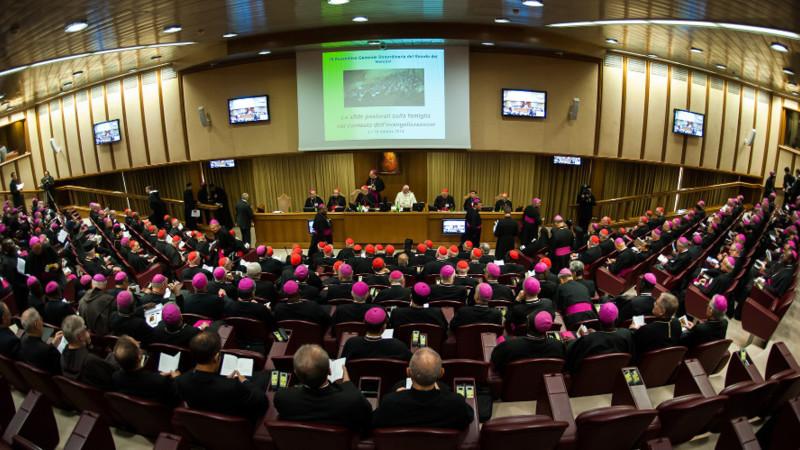 Bischofssynode zu Ehe, Familie und Sexualität. Beginn der Beratungen am 6. Oktober 2014 | © 2014 Mazur/catholicnews.org.uk