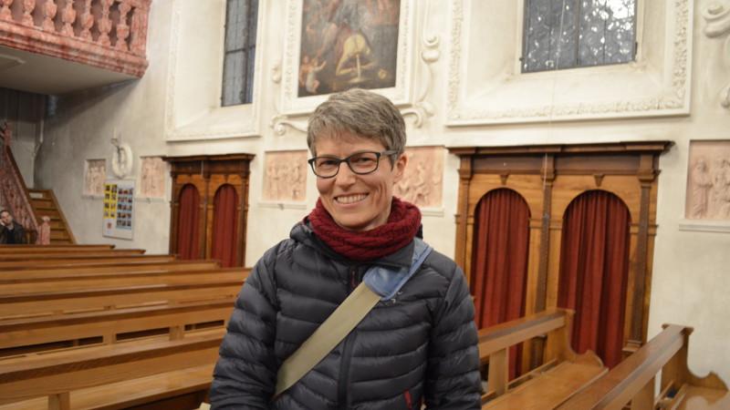 Engagiert in der Pfarrei in Bürglen: Claudia Gisler| © 2015 Regula Pfeifer
