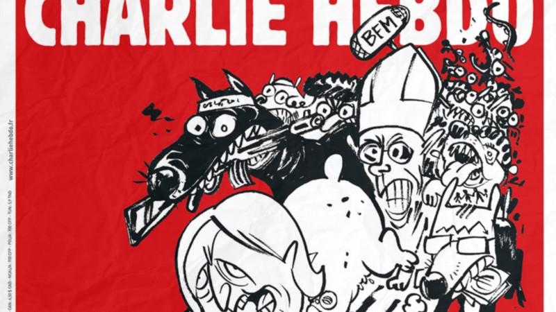 Ausschnitt Titelbild von Charlie Hebdo vom 25.2.2015 | © 2015 Screenshot