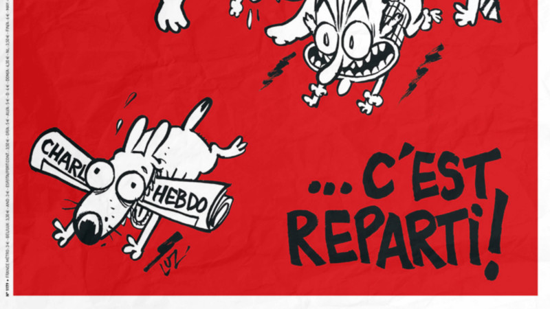 usschnitt Titelbild von Charlie Hebdo vom 25.2.2015 | © 2015 Screenshot