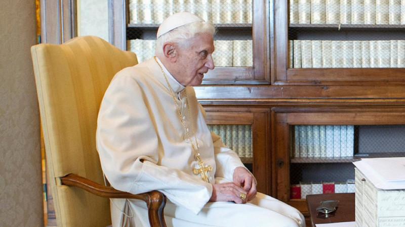 Der emeritierte Papst Benedikt XVI. | © KNA