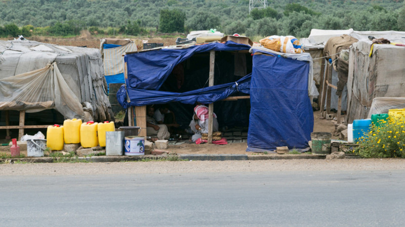 Syrische Flüchtlinge im Norden des Libanon | © 2013 Andrea Krogmann