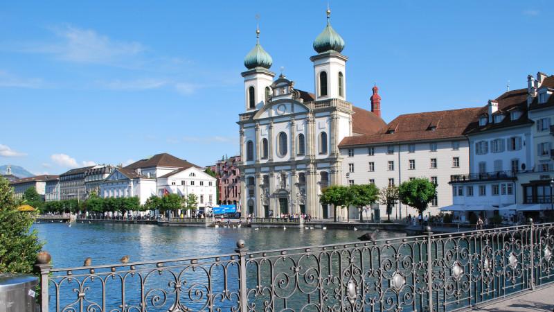 Jesuitenkirche Luzern | © 2013 Barbara Ludwig