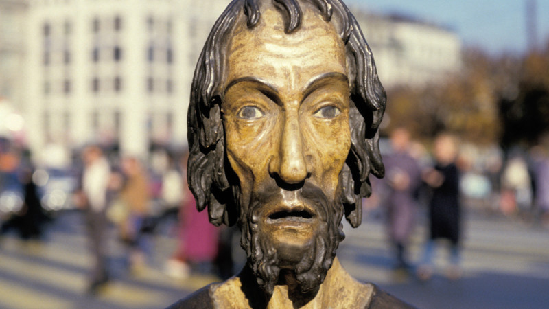 Statue des Niklaus von Flüe | © 2015 Bruder-Klausen-Stiftung zVg