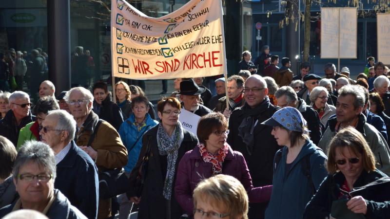 Demonstration der Allianz «Es reicht» im März 2014 | © 2014 Sylvia Stam