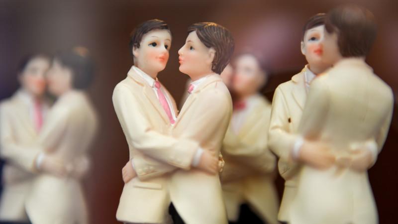 Figuren einer Hochzeitstorte  | © kna