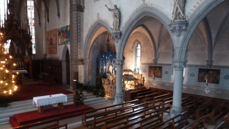 Blick ins Innere der Herz-Jesu-Kirche in Rorschach | © 2015 zVg