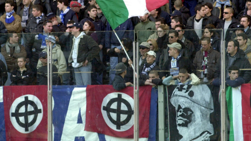 Neofaschisten an einem Fussballspiel in Italien | © 2015 Keystone ELECTRONIC IMAGE