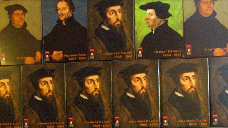 Bildinstallation zum Reformationsjubiläum. | © Georges Scherrer
