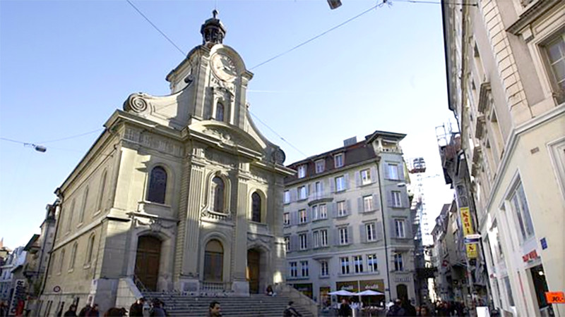 Reformierte Kirche Saint-Laurent in Lausanne | © cath.ch/ccrt
