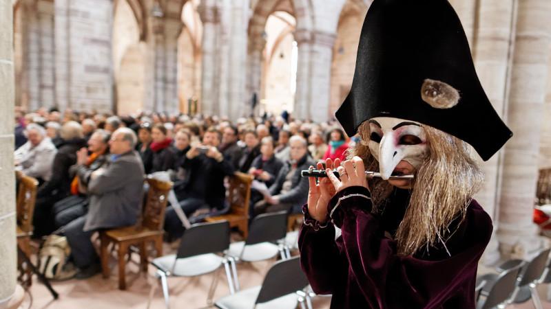 Cantars-Festival in Basel: mischen traditionelle Orgelmusik auf   © 2015 zVg