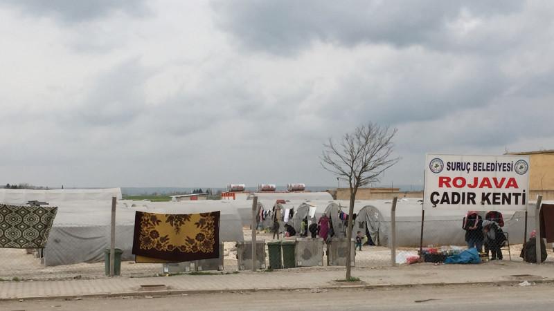 Kurdisches Flüchtlingslager in der Türkei | © Nicole Maron