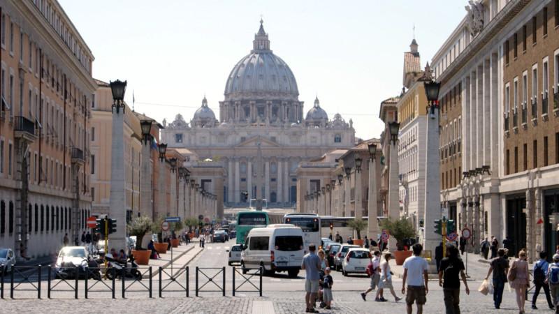 Blick auf den Petersdom | © 2012 Melchior Etlin