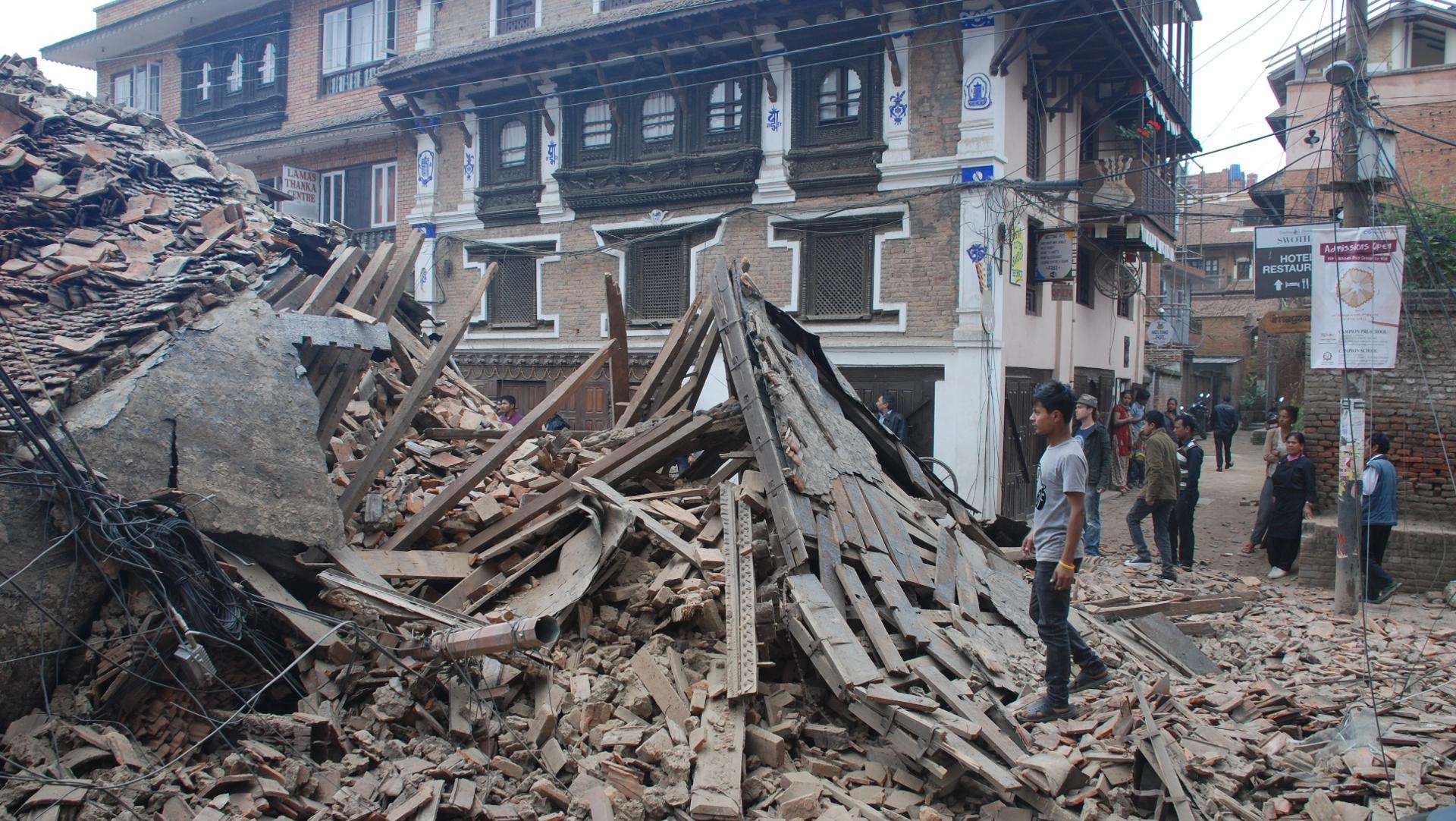 Erdbeben in Nepal: Hilfswerke rufen zu Spenden für Opfer ...