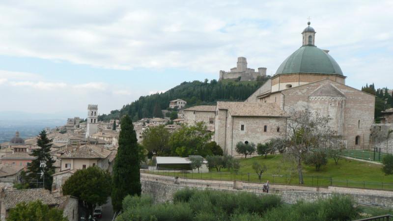 Assisi, Wallfahrtsort in Umbrien, Geburtsort des Heiligen Franziskus | © Sylvia Stam