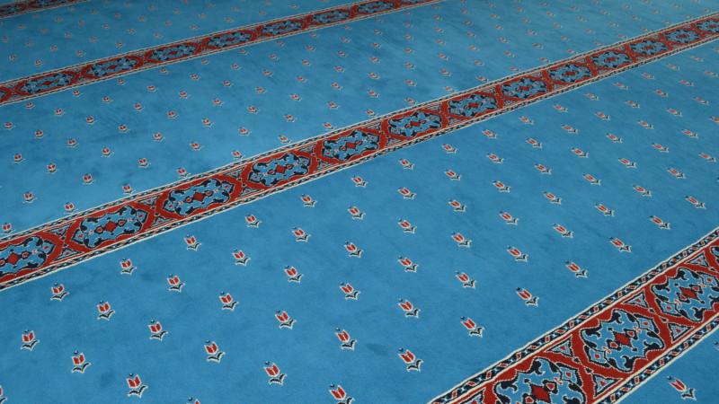 Teppich in der Blauen Moschee Zürich | © Sylvia Stam