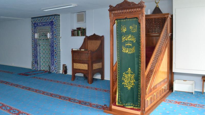 In der Blauen Moschee Zürich| © 2015 Sylvia Stam