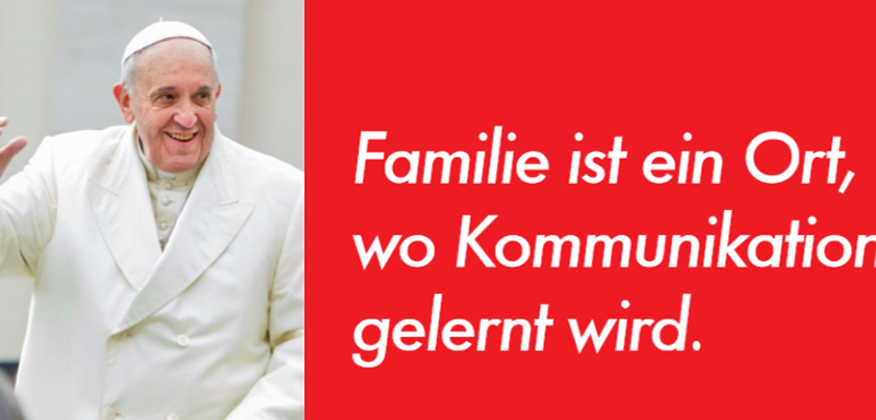 Papst Franziskus zum Mediensonntag 2015 | © kath.ch