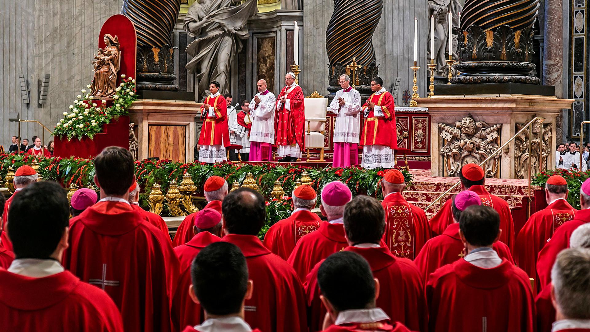 Pfingstmesse mit Papst Franziskus im Petersdom am 24. Mai 2015 | © 2015 kna