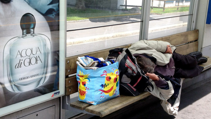Armut in der Schweiz | © Georges Scherrer