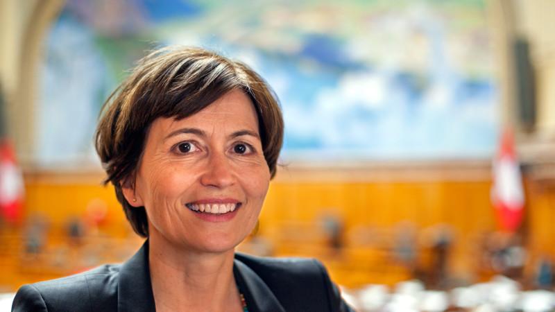 Regula Rytz, Co-Präsidentin der Grünen Schweiz und Nationalrätin | © 2015 zVg regularytz.ch