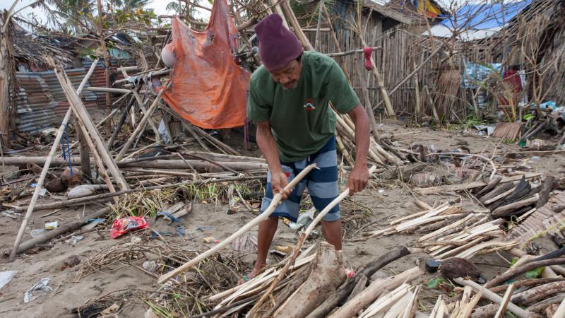 Philippinen: Schäden durch Taifun Hagupit 2014 | © 2014 Fastenopfer