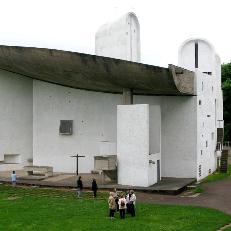 60 jahre wallfahrtskapelle ronchamp von le corbusier alles wissenswerte zur katholischen kirche. Black Bedroom Furniture Sets. Home Design Ideas
