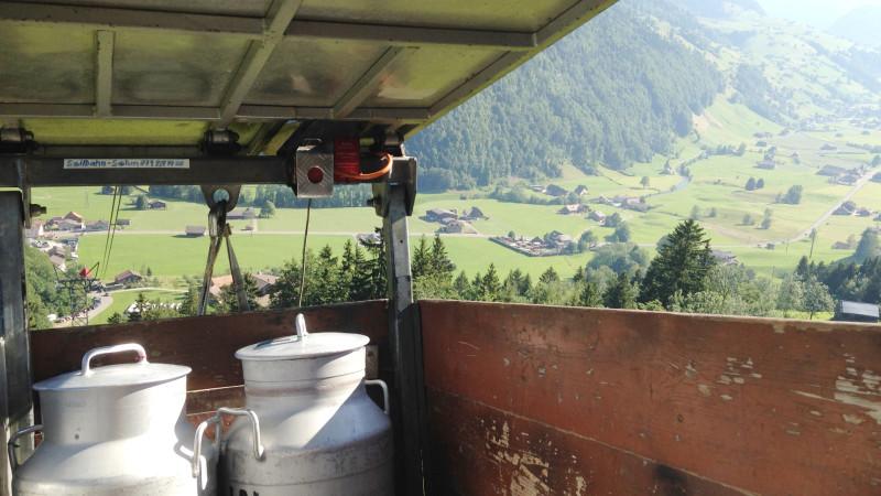 Unterwegs mit Milch von der Alp - Milchwirtschaft im Toggenburg | © Barbara Ludwig