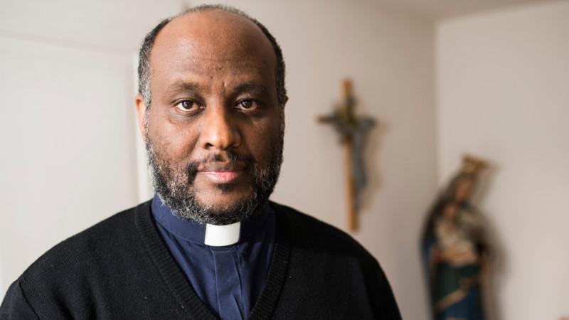 Mussie Zerai, katholischer Priester aus Eritrea | © Jiri Reiner
