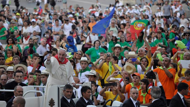Einsatzort der vatikanischen Gendarmerie: Ministrantentreffen 2015 in Rom | © Andy Givel