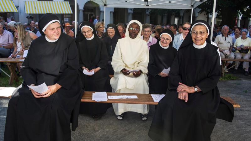 Gottesdienst zum Jubiläum  «400 Jahre Frauenkloster Sarnen», 29.8.15 | © 2015 Vera Rüttimann