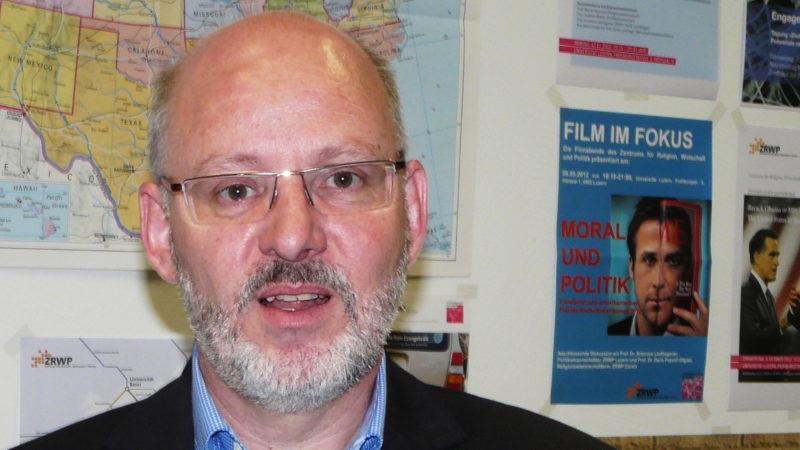 Antonius Liedhegener, Professor für Politik und Religion an der Universität Luzern  | © Sylvia Stam