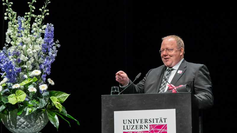 Robert Vorholt | © 2015 Universität Luzern