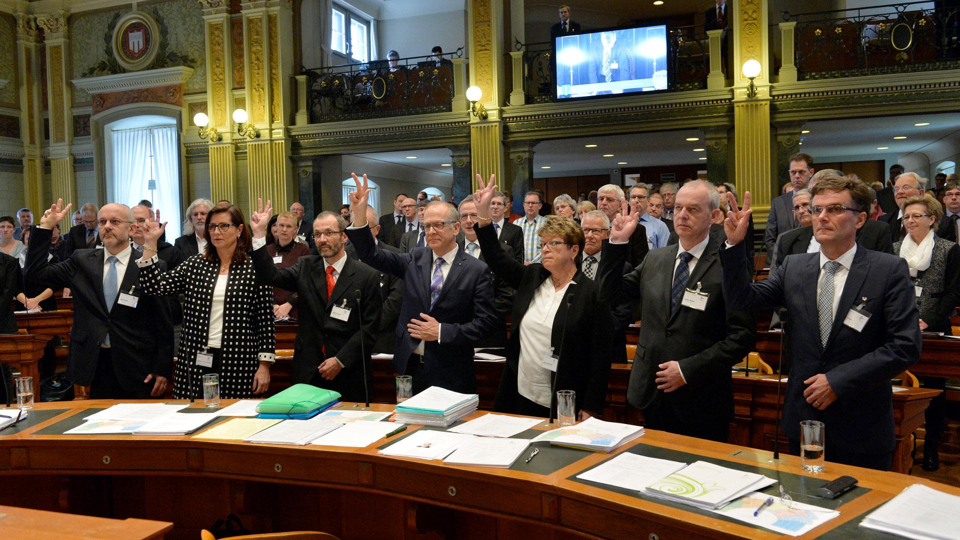 Regierungsrat Der Schweiz Atg