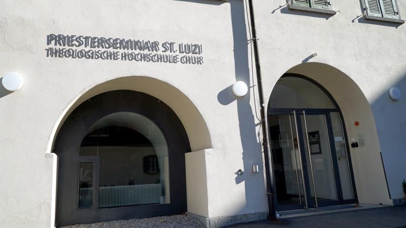 Eingang THC und Priesterseminar Chur | © 2015 Georges Scherrer